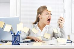 Стрессы - причина прерывания беременности