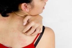 Обширные очаги воспаления на коже - противопоказание к проведению УЗИ