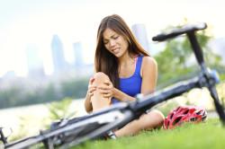 Травма колена при падении